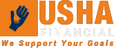 Logo - Usha Financial